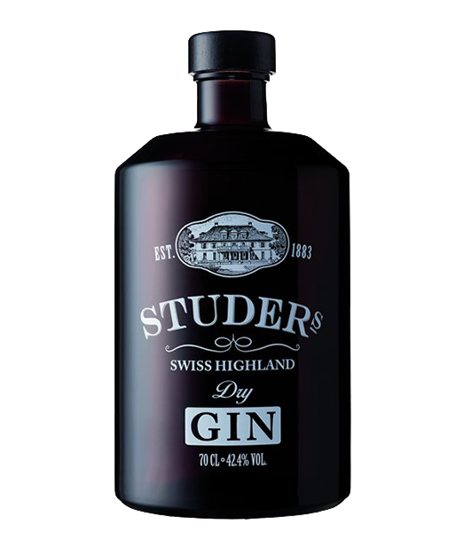 Studers Swiss Highland Dry Gin